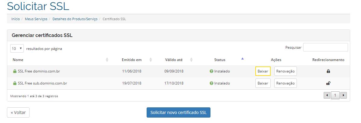 Disponibilizamos três arquivos, sendo eles o certificado em sí, a chave  privada e o certificado CA, nesta ordem. 7f431dddde