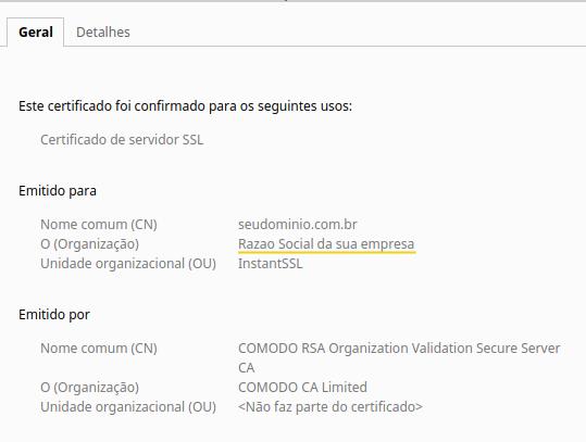 Diferença entre Certificados SSL – Suporte HostGator 82f1e0c857
