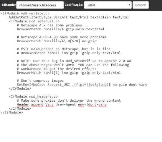 Como utilizar o mod_deflate – Suporte HostGator